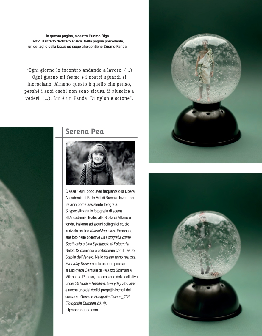 Loredana de Pace, Le Fiabe del Quotidiano, FOTO Cult, dicembre 2014 - gennaio 2015