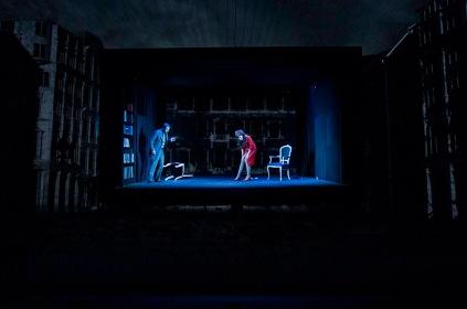 QUARTETT, La Fura Dels Baus, di Luca Francesconi, regia Alex Ollè, 2011, foto di Serena Pea